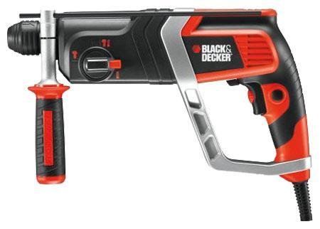 Black&Decker KD990KAKD990KAДомашний помощник Производитель ручного инструмента Black and Decker создал модель KD990KA для использования как в быту, так и на производстве. Перфоратор предназначен для создания отверстий в металле, в дереве и других твердых материалах. В режиме «сверление с ударом» или «долбление» инструмент способен продолбить отверстие в бетоне, кирпиче, керамике. Отличная производительность При относительно не сложных видах работ, а также при эксплуатации инструмента на высоте вам необходим сравнительно легкий и производительный перфоратор. Именно таким является KD990KA от производителя Black and Decker. Модель имеет функцию удара с энергией 2.4 Дж, частотой 5180 уд/мин., что делает его отличным «убийцей» бетона и кирпича. Долбить или сверлить Самым популярным режимом большинства перфораторов является режим «сверления с ударом», при котором рабочая оснастка получает одновременно оборотные и поступательные движения, таким...