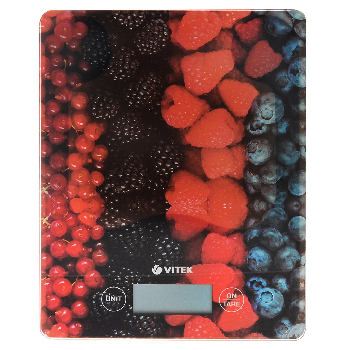 Vitek VT-2422(MC) весы кухонныеVT-2422(MC)Vitek VT-2422(MC) - кухонные весы с сенсорным управлением и платформой стекла. Функция Тара обнуляет массу тары для последовательного взвешивания. Для удобства использования предусмотрена индикация перегрузки и низкого заряда батареи.
