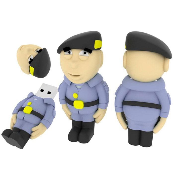 Iconik Полицейский 16GB USB-накопитель