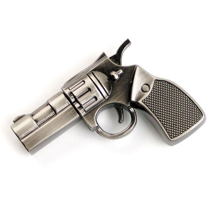 Iconik Револьвер 8GB USB-накопительMT-COLT-8GBФлеш-накопитель Iconik Револьвер имеет весьма нестандартный дизайн. Накопитель ударопрочный и защищен металлическим корпусом, а высокая пропускная способность и поддержка различных операционных систем делают его незаменимым. Iconik Револьвер - отличный выбор современного творческого человека, который любит яркие и нестандартные вещи.