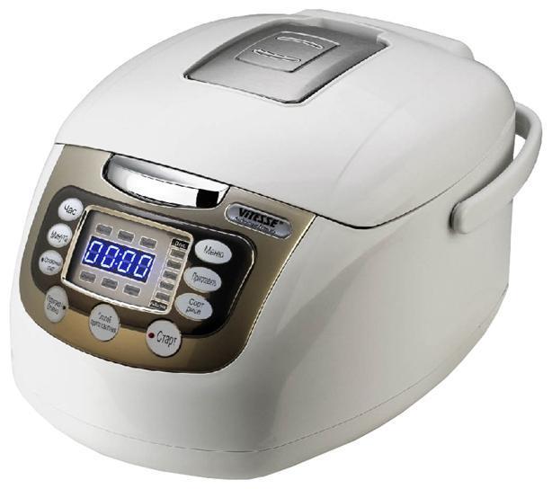 Vitesse VS-513 мультиваркаVS-513С помощью мультиварки Vitesse VS-513 Вы можете варить, подогревать готовые блюда (овощи, рыбу, мясо), готовить на пару и тушить. Эта мультиварка станет Вашим надежным помощником на кухне и сэкономит Ваши силы и время.