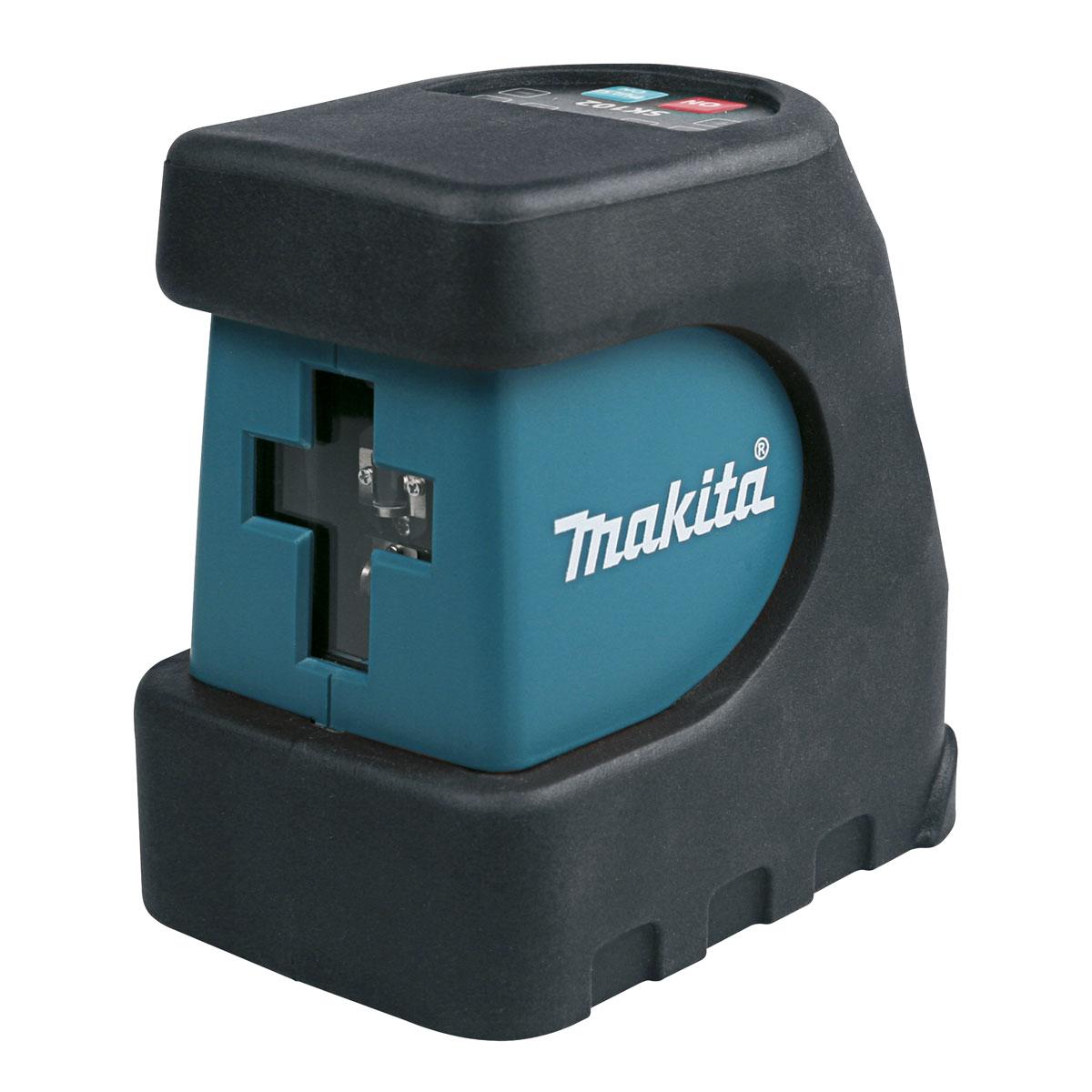 Уровень лазерный Makita SK102Z, 15 м80621Лазерный уровень Makita SK102Z предназначен для профессионального применения при отделочно-ремонтных работах. Два луча проецируют горизонтальную и вертикальную линии поочередно или одновременно. Для удобного хранения и транспортировки, устройство имеет функцию блокировки маятникового механизма и поставляется в сумке. Питается от 3 батареек типа АА (входят в комплект).