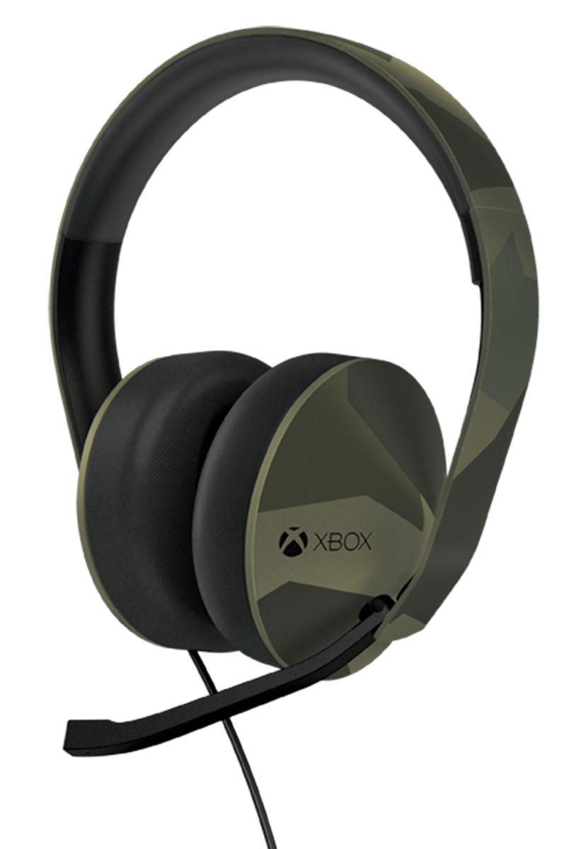 Xbox One Stereo Headset Green Camo стерео гарнитура, Microsoft
