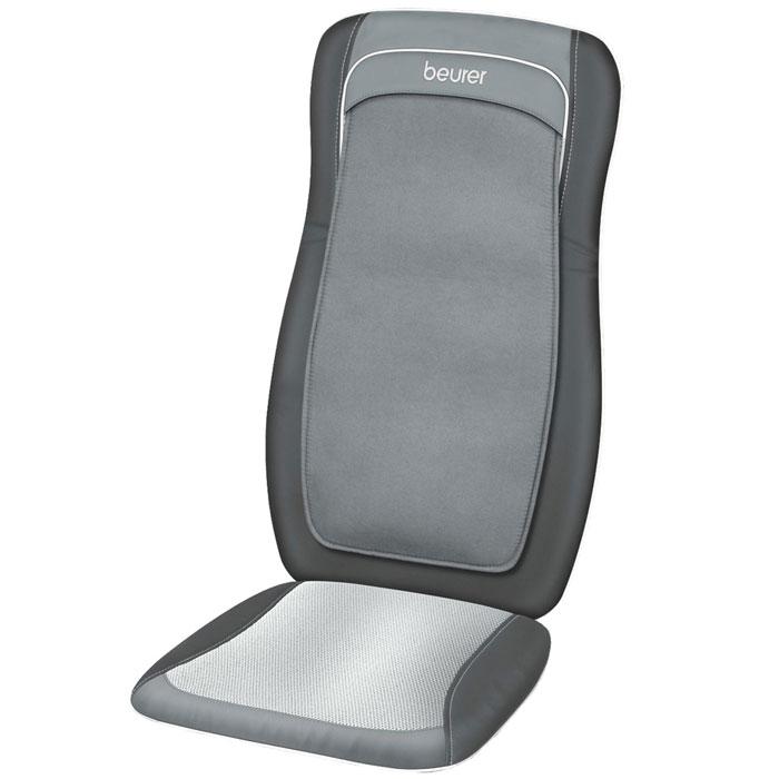 Массажная накидка Beurer MG200 black1092045Массажная накидка Beurer MG200 специально создана для качественного массажа различных частей тела в домашних условиях. Данный массажер представляет собой накидку на сиденья, сделанную из искусственной кожи, мягкого велюра и «дышащей» ткани Mesh. С помощью этой модели вы можете выбрать определенную зону для массажа – верхний отдел спины, нижний отдел или всю спину целиком. Beurer MG200 достаточно прост в использовании – управление прибором производится с помощью специального пульта. Кроме того, прочный корпус этой модели гарантирует ее надежность и долговечность.