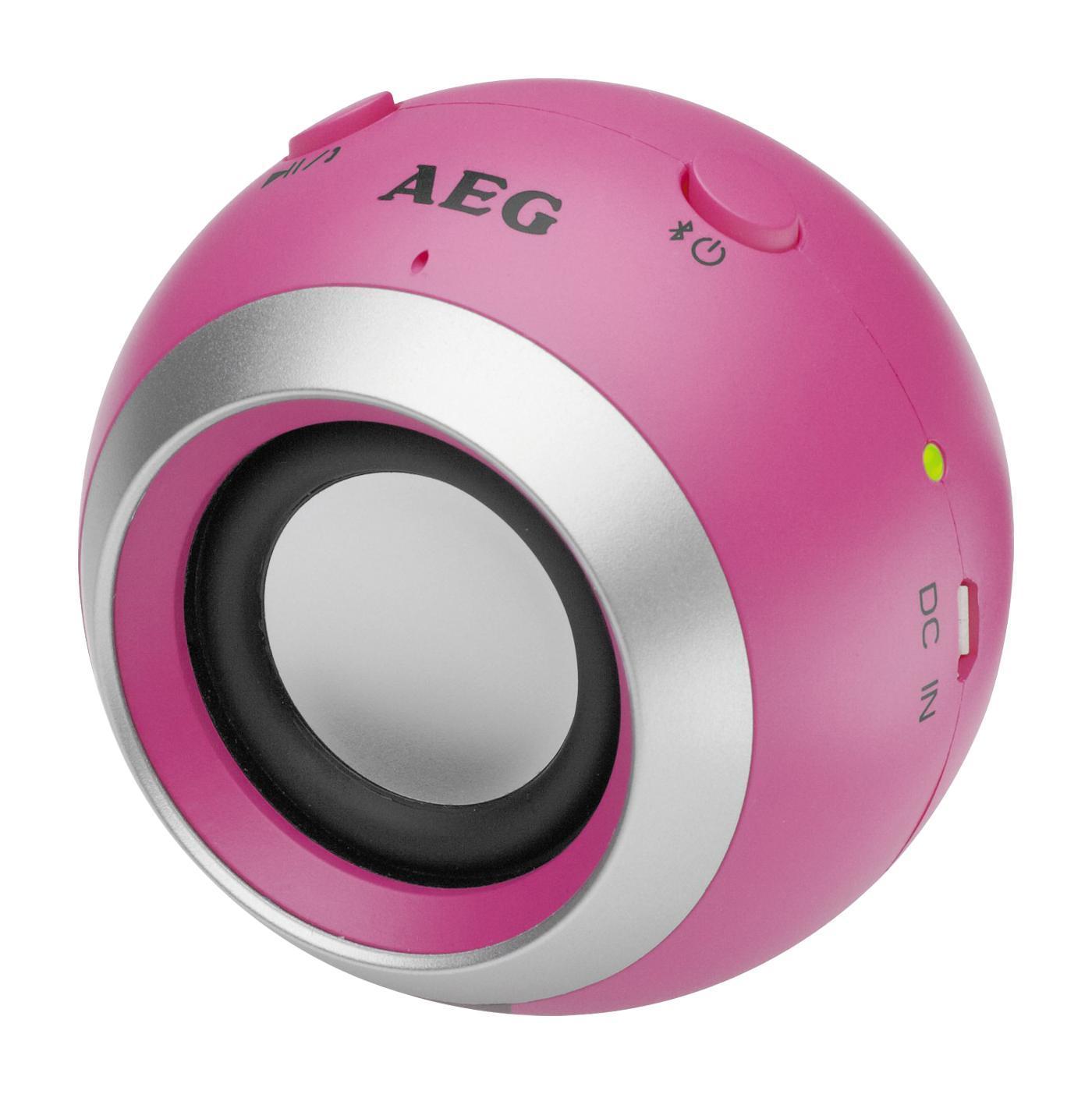 AEG BSS 4817, Pink Bluetooth-аудиосистемаBss 4817 pink