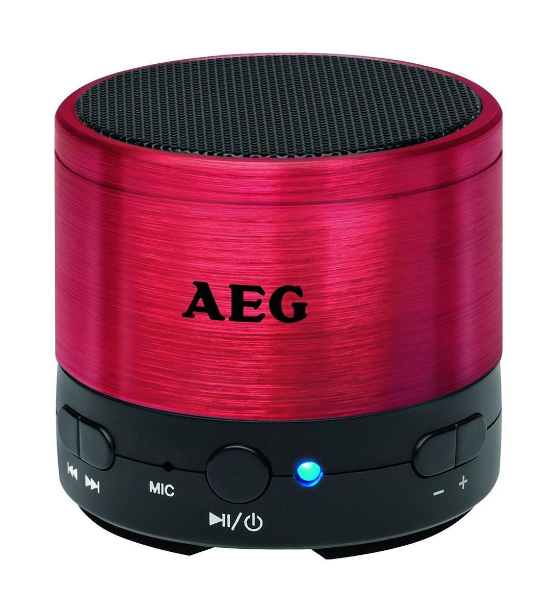 AEG BSS 4826, Red Bluetooth-аудиосистема ( BSS 4826, Red )