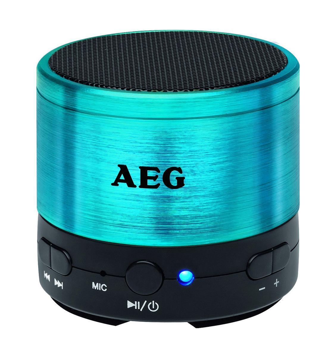AEG BSS 4826, Blue Bluetooth-аудиосистема