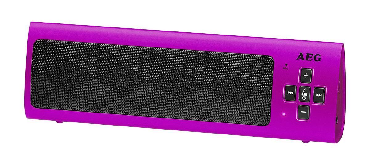 AEG BSS 4818, Pink Bluetooth-аудиосистемаBSS 4818, Pink