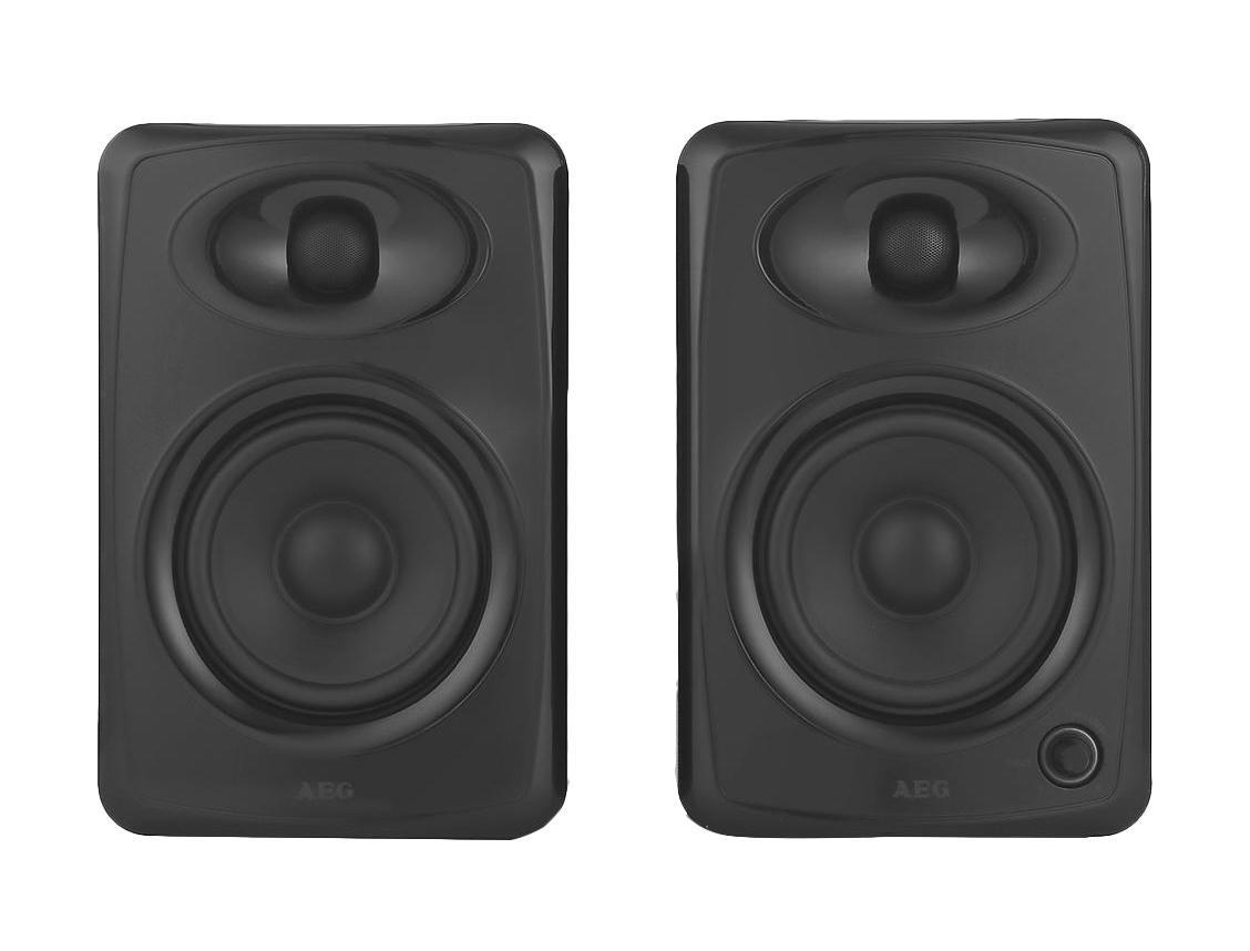 AEG BSS 4812 Bluetooth-аудиосистемаBSS 4812AEG BSS 4812 - идеальное решение для всех, кому нужна качественная акустическая Bluetooth-система. Данная модель акустики порадует своего владельца громким и насыщенным звуком. Для подключения мобильных телефонов, ноутбуков и плееров используется стандартный аудио разъем mini-jack 3.5. Также возможно соединение через AUX-IN. USB-разъем служит для соединения с компьютером или ноутбуком (звуковой картой) для воспроизведения содержания аудиобиблиотек. AEG BSS 4812 замечательно впишется в любой интерьер.