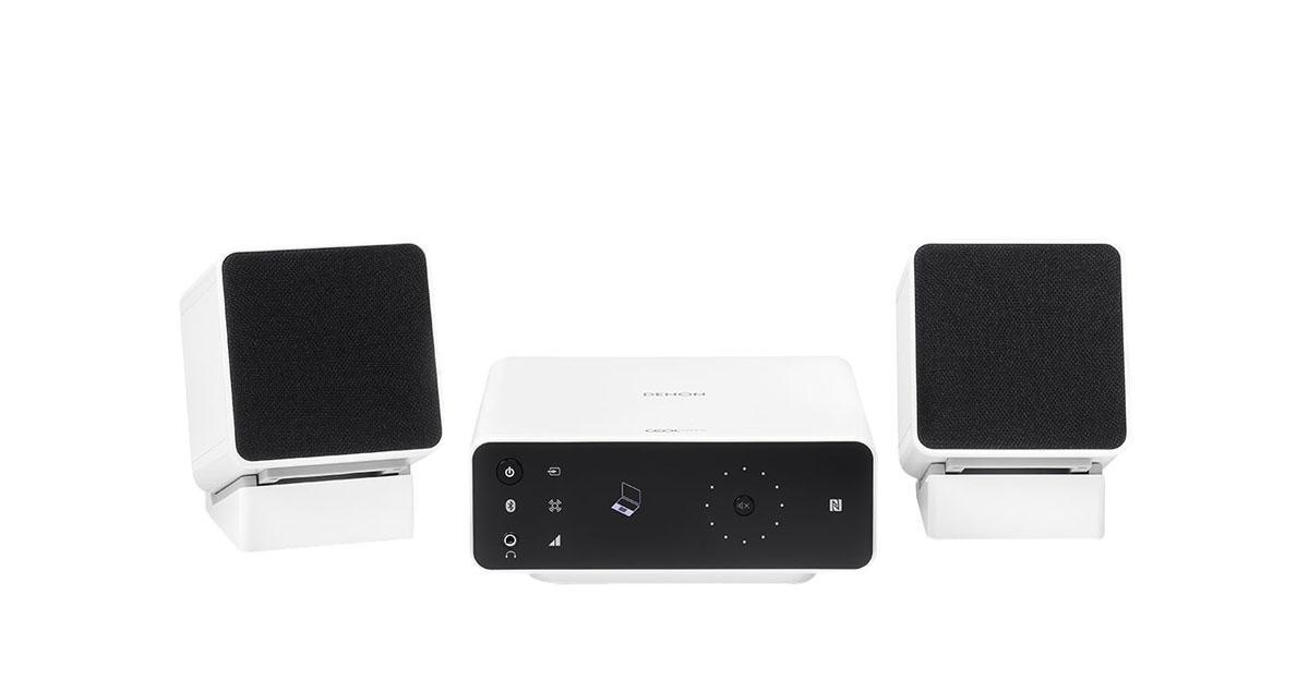Denon CEOL Carino (N2), White микросистемаCEOL Carino (N2), WhiteВысококачественная для ПК Denon CEOL Carino разработана в соответствии с высокими технологиями и стилем Denon. Броский дизайн, удобный и понятный интерфейс, яркий и чистый звук, глубокие низкие частоты, легкое подключение и использование. Встроенные Bluetooth c поддержкой aptX позволит подключить не только компьютер, но и любые другие совместимые гаджеты - смартфон, планшет, плеер. С аудиосистемой Denon CEOL Carino вы можете смотреть любимые фильмы, слушать музыку и играть в игры с отличным, качественным звуком. CEOL Carino обеспечит мощное звучание, несмотря на компактный размер. поставляется в комплекте с подставками, при этом имеется возможность регулировки нужного наклона при прослушивании. В корпусе колонок предусмотрена возможность скрытого хранения кабеля.
