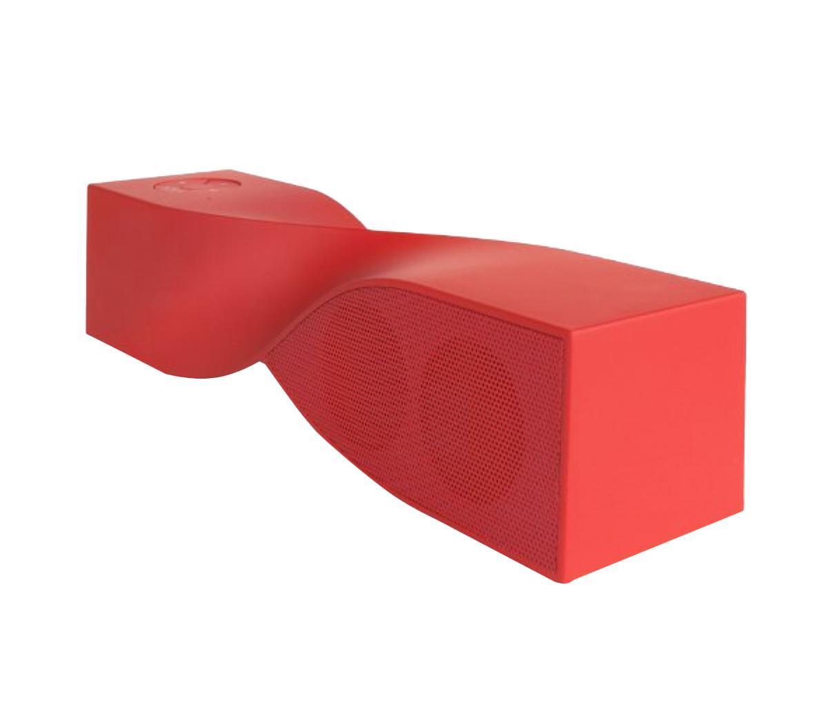 iSound Twist, Red Bluetooth-стереоколонка