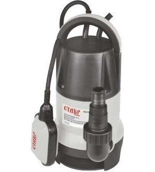 Ставр НПД-450 насос погружнойНПД-450Насос погружной дренажный НПД-450 CТАВР 450Вт, макс производительность 125 л/мин, высота подъема