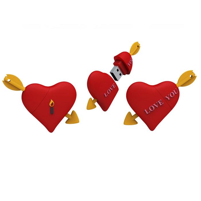 Iconik Сердце 16GB USB-накопительRB-HEART-16GBФлеш-накопитель Iconik Сердце имеет весьма нестандартный дизайн. Накопитель ударопрочный и защищен резиновым корпусом, а высокая пропускная способность и поддержка различных операционных систем делают его незаменимым. Iconik Сердце - отличный выбор современного творческого человека, который любит яркие и нестандартные вещи.