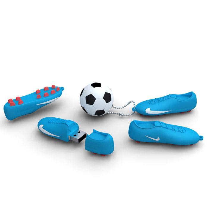 Iconik Футбол 8GB, Blue White USB-накопитель