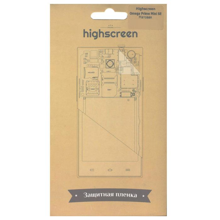 Highscreen защитная пленка для Omega Prime mini SE