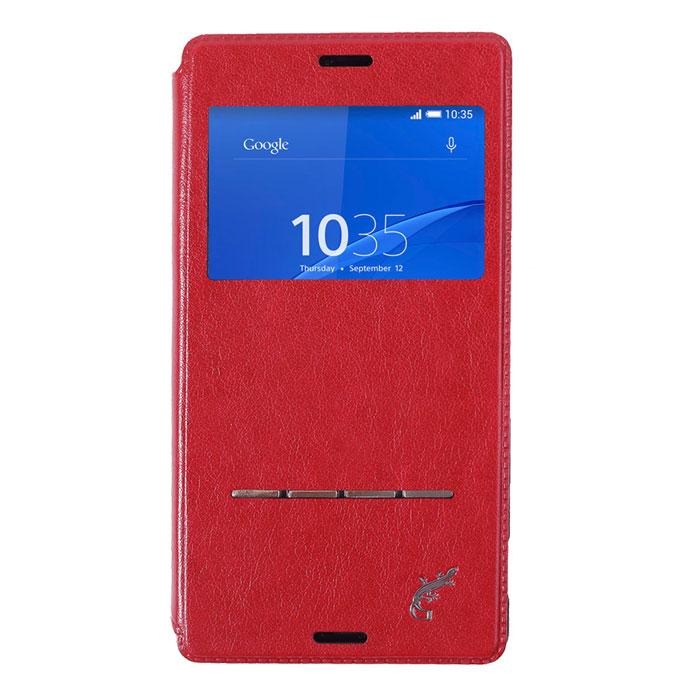 G-Case Slim Premium чехол для Sony Xperia Z3, RedGG-493Чехол G-Case Slim Premium для Sony Xperia Z3 - это стильный и лаконичный аксессуар, позволяющий сохранить устройство в идеальном состоянии. Надежно удерживая технику, обложка защищает корпус и дисплей от появления царапин, налипания пыли и других механических повреждений. Имеет свободный доступ ко всем разъемам устройства.