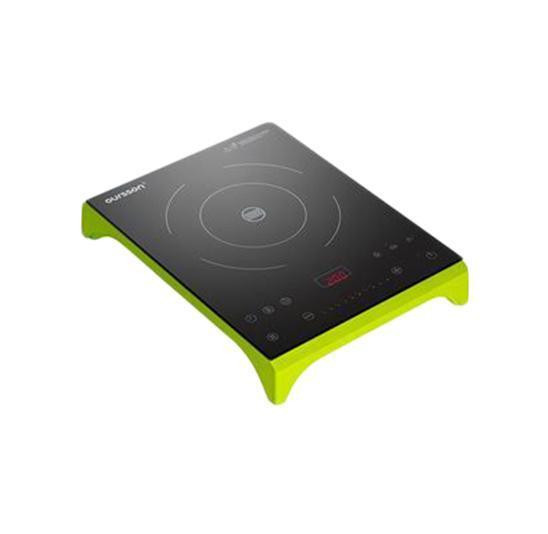 Oursson IP1220T/GA, Green Apple индукционная плитаIP1220T/GA Green AppleИндукционная плита Oursson IP1220T/GA - выгодное решение для самых маленьких кухонь. Сенсорная панель позволяет настроить параметры приготовления блюд всего парой прикосновений. Варочная стеклокерамическая поверхность не нагревается, что обеспечивает безопасность счастливым владельцам. Умная электроника регулирует мощность и помогает выбрать идеальный режим приготовления любого блюда, выбранного вами.