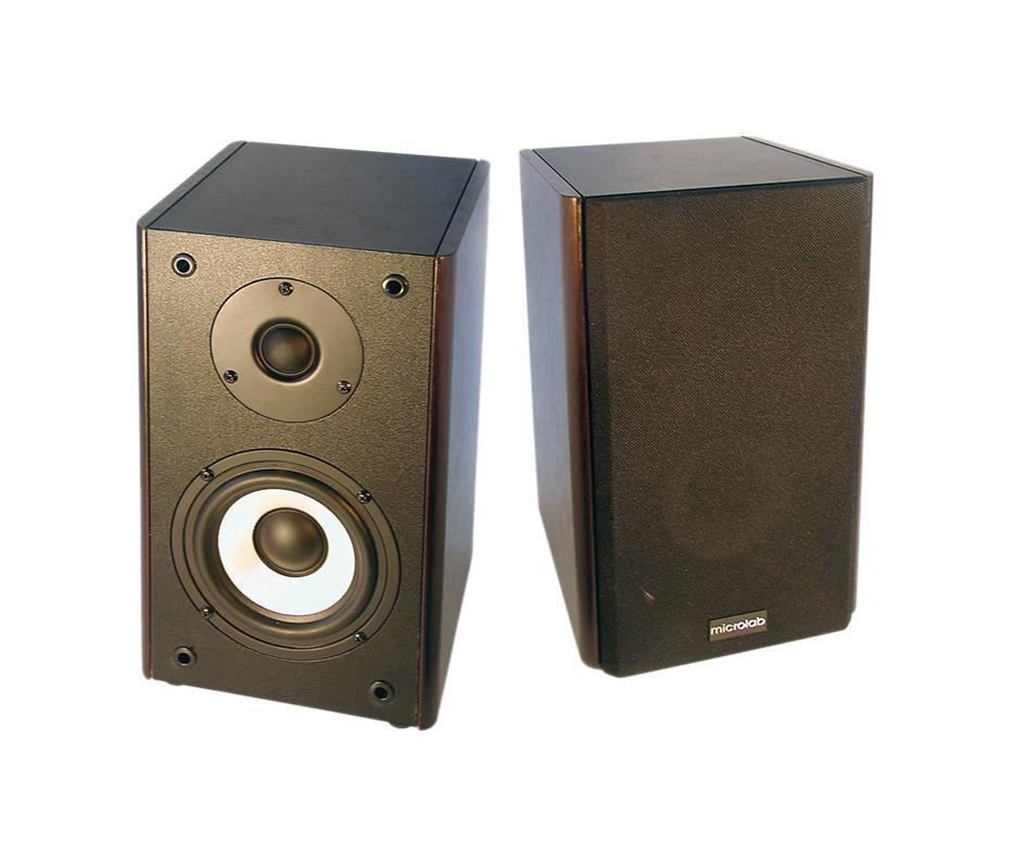 Microlab SOLO-1, Dark Wood акустическая система