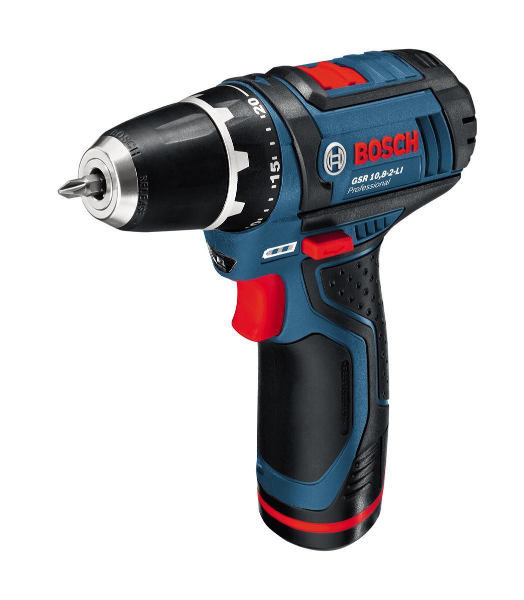 Аккумуляторный шуруповерт Bosch GSR 10.8-2-LI 06018681070601868107