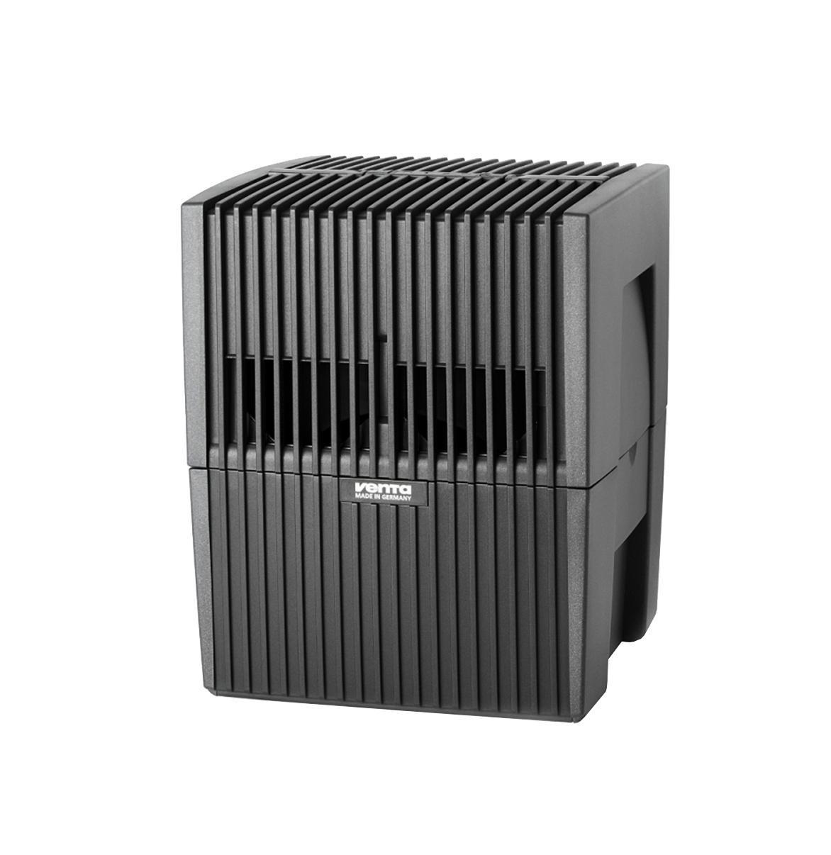 Venta LW 15, Black мойка воздухаLW 15Модель LW 15 - это увлажнитель-очиститель воздуха, который идеально подходит для небольших помещений: детских комнат, спален, кабинетов. Уникальность данной модели заключается в том, что она очень компактная и может легко разместиться даже в самом небольшом помещении при этом общая площадь пластинчатого барабана, на котором промывается воздух, составляет 1,4 м2. Это равноценно тому, чтобы установить бассейн размером 1,4 х 1 м в комнате площадью до 15-20 м2. Установка компактной модели LW 15 позволит избежать переувлажнения воздуха в помещении с небольшой площадью, что очень вероятно при эксплуатации моек воздуха других производителей, которые предлагают только одну модель на площадь до 50 м2. Модель LW 15 в белом исполнении чаще всего приобретают для помещений со светлой мебелью и полами (например, паркет из клена, дуба, карельской сосны). В комплект входят 2 флакона гигиенической добавки.
