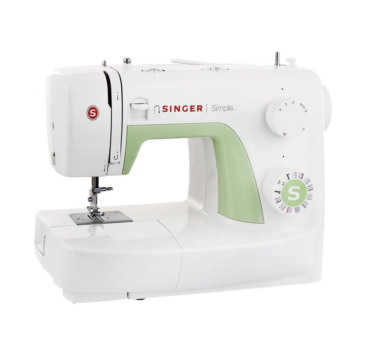 Singer 32293229Классическая швейная машина Singer Simple 3229 имеет богатый набор строчек, включая множество декоративных, умеет делать все основные швейные операции и отлично подойдет для обучения шитью, шитья и ремонта одежды, шитья предметов домашнего обихода и для других подобных работ.