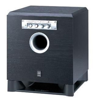 Yamaha YST-SW015, Piano Black активный сабвуфер