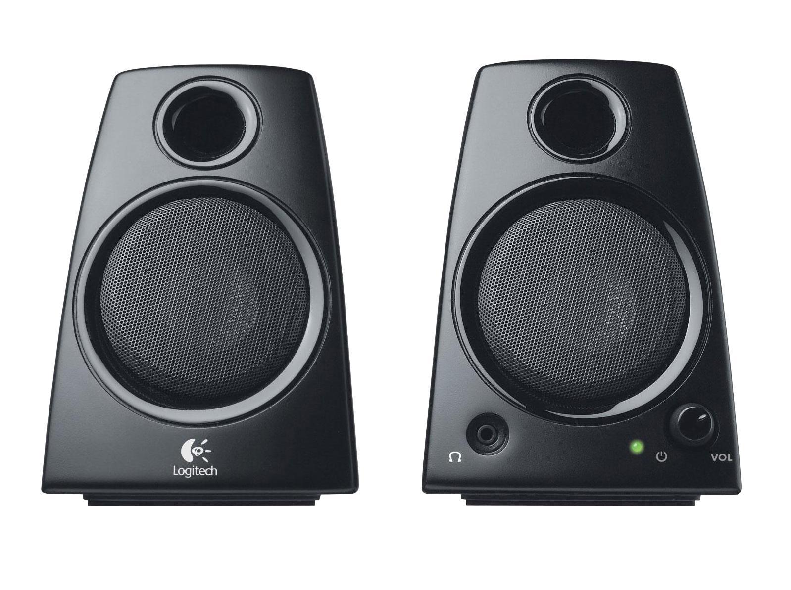 Logitech Z130 (980-000418)980-000418Полная мощность колонок в 5 Вт позволяет получить чистый и громкий стереозвук. Просто подключите колонки к ноутбуку через стандартный разъем 3,5 мм, и все готово. Разъем для наушников и удобные элементы управления громкостью позволяют слушать музыку, смотреть фильмы и играть в игры именно так, как вам хочется. Просто подключите свои наушники и наслаждайтесь звуком музыки, фильмов и игр, когда захотите и где угодно.