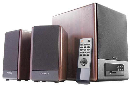 Microlab FC-530U, Dark Wood акустическая система