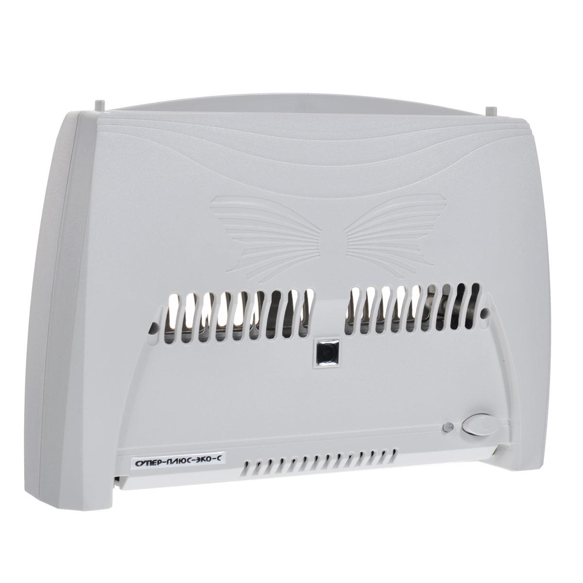 Супер Плюс Эко-С очиститель-ионизатор воздуха1920Прибор Супер Плюс Эко-С состоит из двух основных частей: корпуса и кассеты. Кассета вставляется в прибор сверху. Электронная система информирует о необходимости помыть кассету отключением прибора и миганием красного индикатора. Работа прибора Супер Плюс Эко-С основана на принципе ионного ветра, который возникает в результате коронного разряда и обеспечивает движение воздуха через кассету прибора. Частицы пыли и аэрозоля, находящиеся в воздухе и невидимые невооруженным глазом, прокачиваются вместе с воздухом через кассету, ионизируются, т.е. приобретают электрический заряд, и под действием электростатического поля прилипают к пластинам, расположенным внутри кассеты. Воздух, проходящий через кассету, также обогащается озоном. Но количество озона, которое образуется в зоне коронного разряда, заметно меньше предельно допустимой концентрации (ПДК). И все же его достаточно для того, чтобы в помещении, в котором работает прибор, уничтожались...