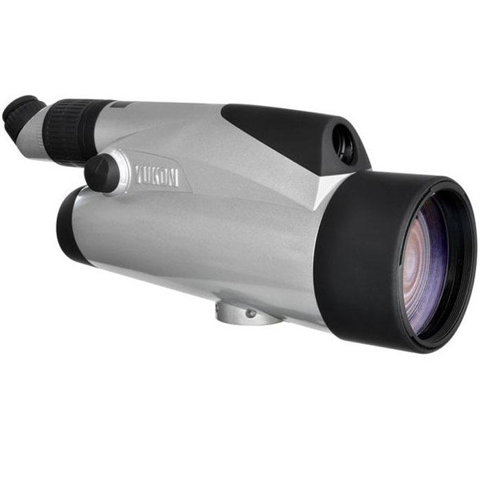 """Yukon 100x подзорная труба, Silver21031SЗрительная труба Yukon 100х хороша для целей стационарного наблюдения любителями животного мира и природы на открытой местности, а также для наблюдения, в том числе и профессионального, в городских условиях, и для астрономических целей. Труба Yukon 100х имеет совершенно новые уникальные оптические характеристики. В ней впервые достигнута возможность плавного изменения кратности от 6х до 100х. Переключение с дополнительного канала на основной и наоборот осуществляется простым поворотом рукоятки. Зрительная труба может устанавливаться на штативах 1/4"""" и 3/8"""". Важной особенностью является возможность фотографирования через зрительную трубу при помощи фотоадаптеров. Специальная видеонасадка (в комплект не входит) поможет вывести изображение на экран монитора, при необходимости - сделать видеозапись, и обеспечит Вам комфорт при длительных наблюдениях. Все эти функции позволяют применять зрительную трубу во многих сферах любительской и профессиональной..."""