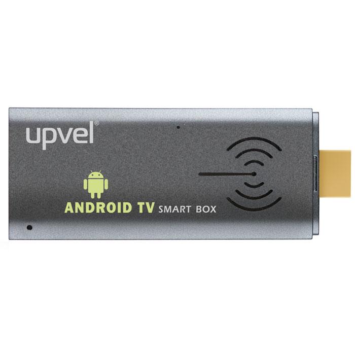 UPVEL UM-501TV Smart-TV приставкаUM-501TVUM-501TV - это микрокомпьютер под управлением ОС Android 4.2 с процессором Rk3066 Dual Core 1,6 ГГц (Cortex-A9), который расширяет возможности вашего телевизора или монитора, добавляя к ним весь функционал операционной системы Android. Просматривайте сайты, онлайн ресурсы, новости, социальные сети и многое другое. Общайтесь через интернет.Медиаплеер поддерживает онлайн просмотр эфирного телевидения или видео с Youtube, Rutube, ivi, VK, и многих других. Позволяет слушать музыку с онлайн коллекций. Позволяет транслировать видео и аудио со стационарных компьютеров или ноутбуков через медиаплеер. С UM-501TV вам доступны тысячи приложений (как платные, так и бесплатные) из Google Play маркета. Приложения для самых различных задач: видео- и аудиоплееры, веб-браузеры, приложения банков и авиакомпаний, игры, офисные программы, интернет, медиа и многое другое. В настоящее время пользователям Google Play доступны также фильмы, книги и другие медиапродукты. ...