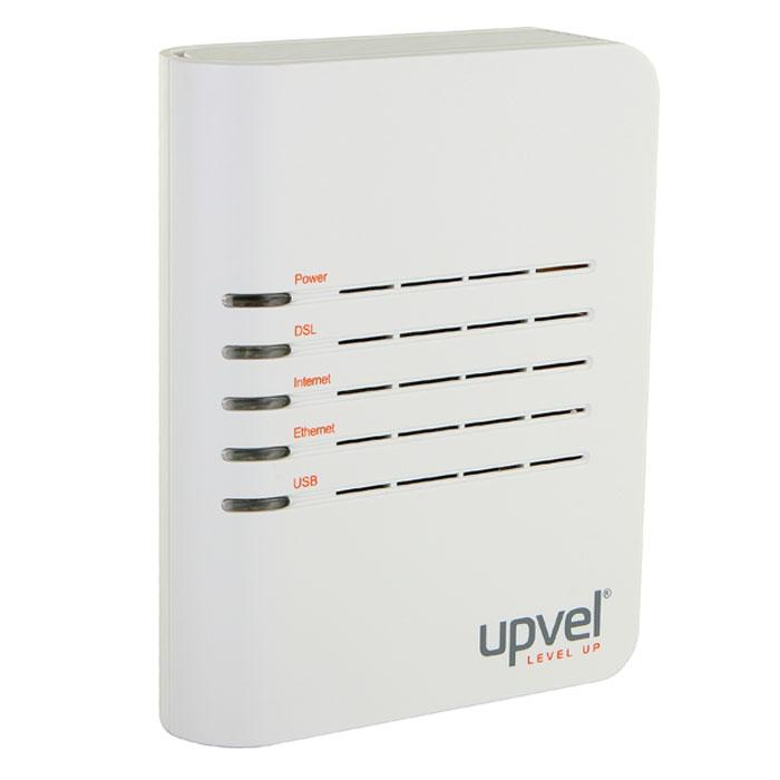 UPVEL UR-101AU маршрутизаторUR-101AUРоутер UR-101AU предоставляет собой решение начального уровня для кабельного подключения к Интернет по технологии ADSL/ADSL2+. Сплиттер, поставляемый в комплекте, оставляет свободным телефонную линию и подключается к роутеру через стандартный телефонный разъем RJ-11. Программа быстрой настройки легко настраивает доступ в сеть Интернет. Компьютер подключается к маршрутизатору по USB, а приставка IP-TV (цифровое телевидение) подключается к роутеру по кабелю Ethernet. Роутер работает с большинством российских ADSL-провайдеров Поддерживает функцию IP-TV (цифровое телевидение) Поддержка 8 PVC Диапазоны VPI (0-255), VCI (32-65535) TM Cell через AAL5 Поддержка UBR/CBR/VBR Инкапсуляция Поддержка автоматического определения VPI/VСI и метода мультиплексирования (VC-based, LLC-based) Максимальная скорость связи: от провайдера до 24 Мбит/с, к провайдеру до 1 Мбит/с (до 3.5 Мбит/с при поддержке провайдером Annex M) ...