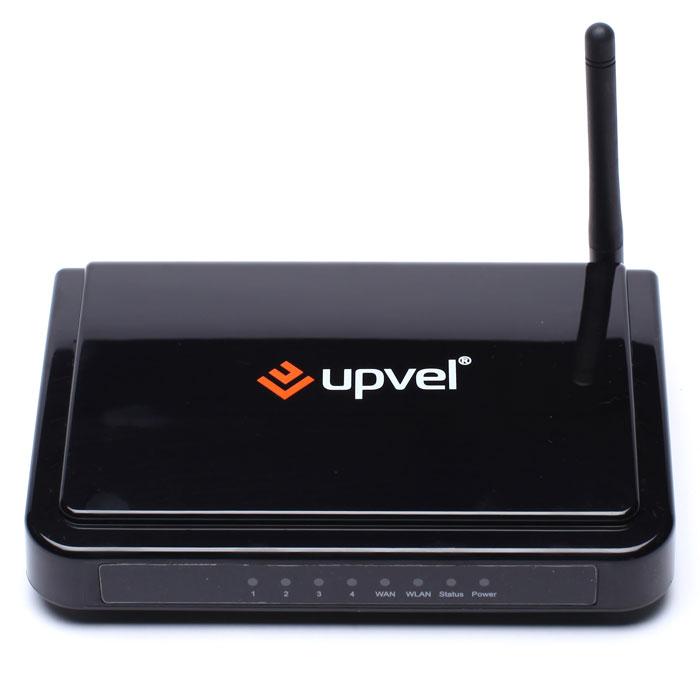 UPVEL UR-315BN маршрутизаторUR-315BNWi-Fi роутер стандарта 802.11n с поддержкой IP-TV UR-315BN обеспечивает скорость передачи данных до 150 Мбит/с, позволяет скачивать файлы больших размеров и просматривать видео в HD качестве без задержек по скорости. В комплект поставки входит диск с «Мастером быстрой настройки», который поможет подключить роутер в считанные минуты. Для российских пользователей компания UPVEL разработала новую версию микропрограммного обеспечения, которое поддерживает протоколы Russian PPPoE, Russian PPTP и Russian L2TP и функцию Цифрового Телевидения (IP-TV). Использование роутера с Wi-Fi адаптерами UPVEL стандарта 802.11n обеспечит максимальную производительность Wi-Fi сети.