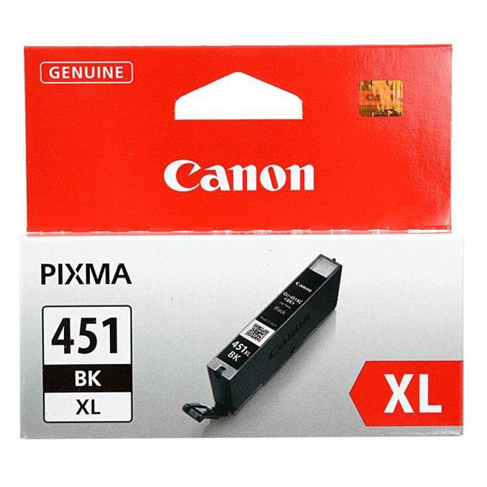 Canon CLI-451 BK XL картридж для струйных принтеров6472B001Картридж повышенной емкости Canon CLI-451 XL с чернилами для струйных принтеров Canon PIXMA.