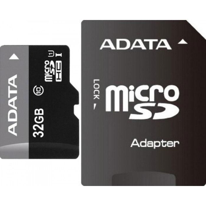 ADATA Premier microSDHC 32GB Class 10 UHS-I карта памяти + адаптерAUSDH32GUICL10-RA1Карта памяти ADATA Premier microSDHC Class 10 UHS-I отвечает новейшей спецификации SDA 3.0 и стандарту UHS- I (сверхвысокая скорость 1, класс скорости 10 по SD 2.0). В карте памяти реализована технология кода с исправлением ошибок (Error-Correction Code, ECC); кроме того, она чрезвычайно устойчива к низким температурам и рентгеновскому излучению, что делает ее одной из самых стойких карт памяти в мире.