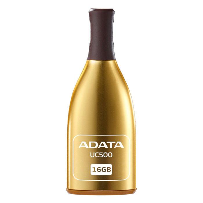 ADATA UC500 16GB, Gold USB-����������