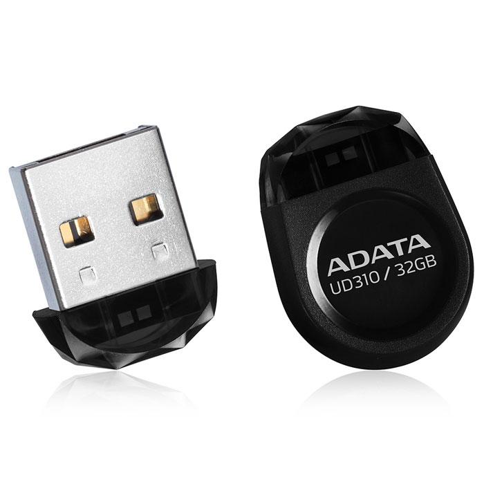 ADATA UD310 32GB, Black USB-накопительAUD310-32G-RBKADATA UD310 - это удобное и прочное устройство хранения данных, изготавливаемое по современной технологии кристалл-на-плате (СОВ), которая гарантирует идеальную водостойкость и защиту данных. Миниатюрную, в форме драгоценного камня, флэшку UD310 можно оставить вставленной в ультрабук или ноутбук надолго, она не будет ни за что зацепляться. Искрящийся корпус , в форме ограненного бриллианта, подчеркивает ультракомпактную и сверхпортативную конструкцию флэшки UD310, занимающей минимум места при её использовании в переносном или настольном компьютере. Возможность без ограничений обмениваться вашими видео, музыкальными и графическими файлами делает UD310 идеальным аксессуаром для компьютеров ультрабук и множества других тонких и сложных электронных устройств, при этом в любое время гарантирующим защиту ваших бесценных данных.
