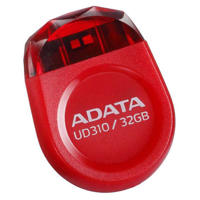 ADATA UD310 32GB, Red USB-накопительAUD310-32G-RRDADATA UD310 - это удобное и прочное устройство хранения данных, изготавливаемое по современной технологии кристалл-на-плате (СОВ), которая гарантирует идеальную водостойкость и защиту данных. Миниатюрную, в форме драгоценного камня, флэшку UD310 можно оставить вставленной в ультрабук или ноутбук надолго, она не будет ни за что зацепляться. Искрящийся корпус , в форме ограненного бриллианта, подчеркивает ультракомпактную и сверхпортативную конструкцию флэшки UD310, занимающей минимум места при её использовании в переносном или настольном компьютере. Возможность без ограничений обмениваться вашими видео, музыкальными и графическими файлами делает UD310 идеальным аксессуаром для компьютеров ультрабук и множества других тонких и сложных электронных устройств, при этом в любое время гарантирующим защиту ваших бесценных данных.