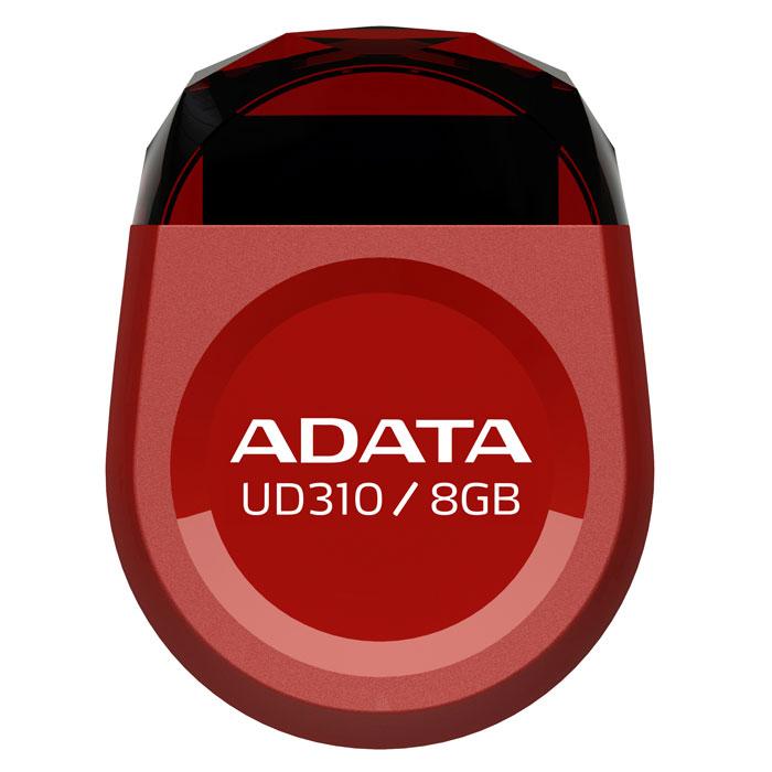 ADATA UD310 8GB, Red USB-накопительAUD310-8G-RRDADATA UD310 - это удобное и прочное устройство хранения данных, изготавливаемое по современной технологии кристалл-на-плате (СОВ), которая гарантирует идеальную водостойкость и защиту данных. Миниатюрную, в форме драгоценного камня, флэшку UD310 можно оставить вставленной в ультрабук или ноутбук надолго, она не будет ни за что зацепляться. Искрящийся корпус , в форме ограненного бриллианта, подчеркивает ультракомпактную и сверхпортативную конструкцию флэшки UD310, занимающей минимум места при её использовании в переносном или настольном компьютере. Возможность без ограничений обмениваться вашими видео, музыкальными и графическими файлами делает UD310 идеальным аксессуаром для компьютеров ультрабук и множества других тонких и сложных электронных устройств, при этом в любое время гарантирующим защиту ваших бесценных данных.