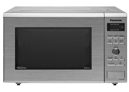 Panasonic NN-GD392SZPE Микроволновая печьNN-GD392SZPEВнутреннее покрытие - жаропрочная эмаль (серого цвета). Тип гриля: кварцевый.