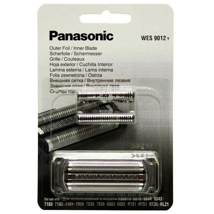 Panasonic WES 9012 Y cетка + режущий блок к бритвеWES 9012 YPanasonic WES 9012 Y - сетка и режущий блок для электробритв от Panasonic. Изделие изготовлено из качественных материалов и отличается своей надежностью и долговечностью. Для моделей: Panasonic ES8813/8078/8044/8043/7109/7102/7101/7058/7038/6003/6002, RT81, RT51, RT31, RL21