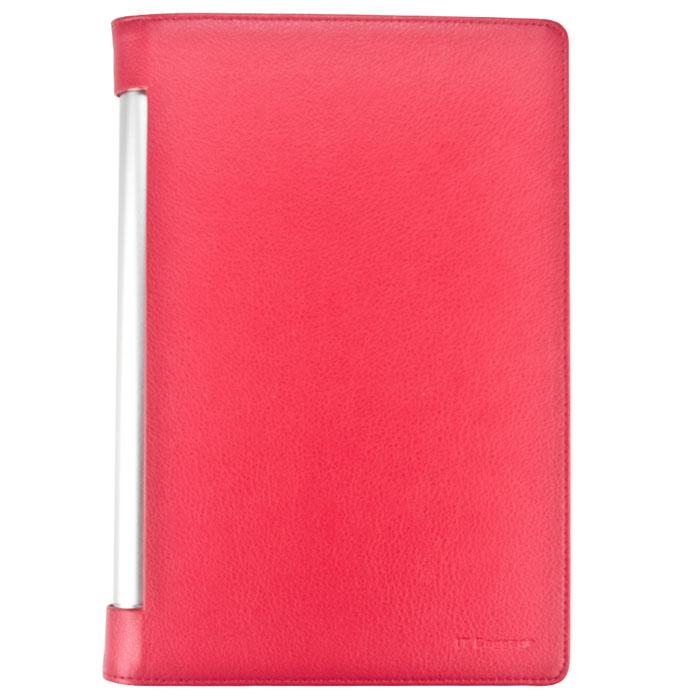 IT Baggage чехол для Lenovo Yoga Tablet 2 10, RedITLNY210-3Чехол IT Baggage для Lenovo Yoga Tablet 2 10 - это стильный и лаконичный аксессуар, позволяющий сохранить планшет в идеальном состоянии. Он имеет свободный доступ ко всем разъемам устройства, и в то же время надежно удерживает технику, а обложка защищает корпус и дисплей от появления царапин, налипания пыли. Также чехол можно использовать как подставку для чтения или просмотра фильмов.