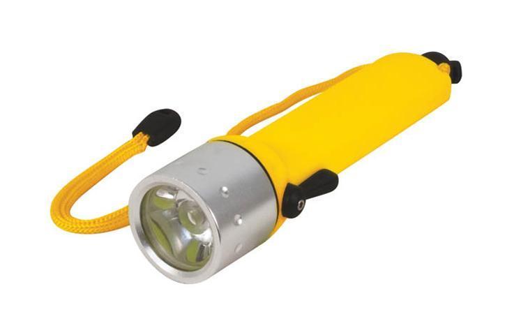 FIT Подводный фонарь FIT 67768, цвет: желтый