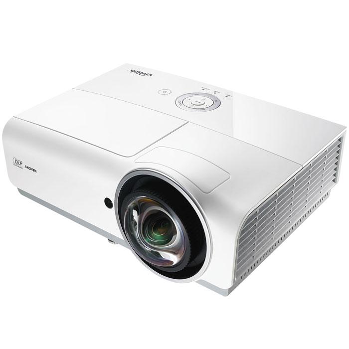 Vivitek DW882ST мультимедийный проектор814964339843Vivitek DW882ST - мультимедийный проектор, который специально разработан для образовательных учреждений. Он проецирует изображение размером 88 с расстояния всего в 1 метр. Такое проекционное расстояние позволяет выступающему стоять перед экраном не опасаясь попадания света в глаза и не загораживая собой изображение. Проектор демонстрирует великолепное качество картинки и располагает рядом удобных функций для проведения презентаций любого уровня. Для простоты подключения аппарат оснащен большим набором различных интерфейсов подключения, включая HDMI 1.4b, VGA, S-Video, Composite Video, аудио-вход и выход. Данная модель оснащена герметичным оптическим трактом и отсутствием необходимости менять пылевые фильтры. Новинки оснащены 6-сегментным цветовым колесом, повещающем качество цветопередачи. Встроенные 10-ваттные динамики позволяют обойтись без отдельной аудиосистемы при просмотре мультимедийного контента, а технология DLP Link включает полную поддержку 3D...