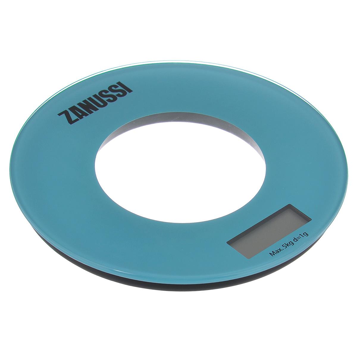 Кухонные весы Bologna, голубойZSE21221FFЭлектронные кухонные весы Zanussi Bologna придутся по душе каждой хозяйке и станут незаменимым аксессуаром на кухне. Ультратонкий корпус весов выполнен из пластика с цифровым ЖК-дисплеем. Весы выдерживают до 5 килограмм и оснащены высокоточной сенсорной измерительной системой. Имеется индикатор низкого заряда батареи. С помощью таких электронных весов можно точно контролировать пропорции ингредиентов. УВАЖАЕМЫЕ КЛИЕНТЫ! Обращаем ваше внимание, что весы работают от одной литиевой батарейки CR2032 напряжением 3V (входит в комплект).