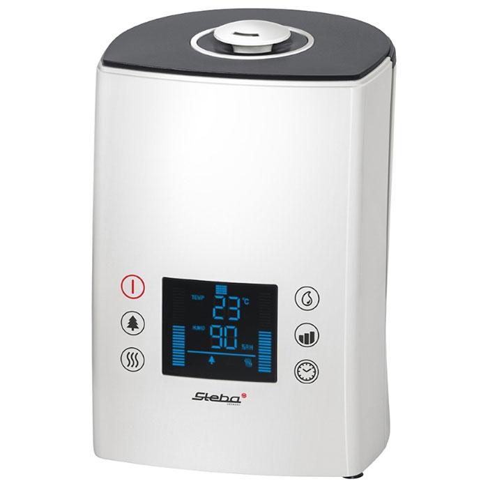 Steba LB 7 увлажнительLB 7Увлажнитель воздуха Steba LB 7 от немецкого производителя Steba в современном стильном дизайне сохранит воздух вашей спальни, офиса или любого помещения площадью до 25 м 2 чистым и оптимально влажным для дыхания. Прибор не издает лишнего шума, благодаря чему может быть практически не заметен и не мешать вам во время сна. Он удобен в управлении благодаря LCD-дисплею и дистанционному пульту. Прибор автоматически отключится, в случае выработки всей воды. Вы сможете сами легко устанавливать необходимый уровень влажности. Возможна подача как теплого, так и холодного воздуха, что особенно важно для эксплуатации прибора круглый год.