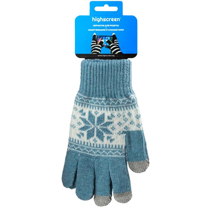 Highscreen Snowflake Series �������� ��� ��������� �������, Light Blue (ID03-101LBLU)