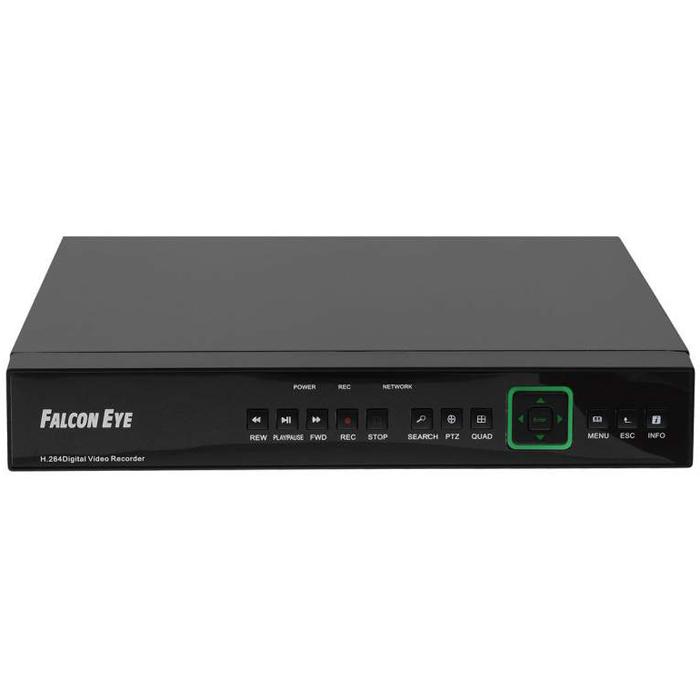 Falcon Eye FE-104D-KIT Дом комплект видеонаблюденияFE-104D-KIT ДомFE-104KIT - современный комплект видеонаблюдения, представляющий собой набор высококачественного оборудования для самостоятельного построения системы видеонаблюдения. Развернуть и настроить систему сможет даже не обладающий специальными знаниями человек. Технические характеристики комплекта, надежность и функциональность удовлетворяют строгим критериям оценки систем безопасности для дома офиса или дачи. Камеры с разрешением 700 телевизионных линий позволят записать сигнал с четкостью, достаточной для детального просмотра, а также для того, чтобы при необходимости использовать видеозапись, как доказательство противоправного действия. В регистраторе воплощены передовые технологии для систем аналогового видеонаблюдения: разрешение записи до 960Р (960х576) и возможность удаленного просмотра видео при помощи облачной технологии P2P (cloud) на мобильных устройствах различных платформ.