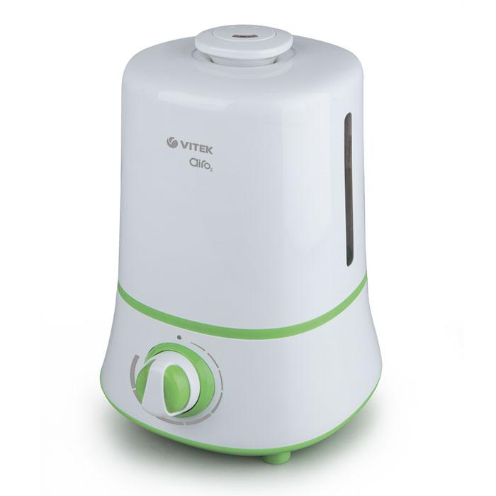 Vitek VT-2351(W) увлажнитель воздухаVT-2351(W)В отопительный период воздух в помещении становится сухим, что негативно сказывается и на состоянии кожи, и на состоянии всего человеческого организма. Забыть о подобных неприятностях вам помогут увлажнитель воздуха Vitek VT-2351(W). Пользоваться увлажнителем воздуха Vitek VT-2351(W) особенно приятно. В устройстве с механическим управлением при помощи поворотных переключателей вы можете отрегулировать скорость вращения вентилятора и интенсивность испарения воды, а также направление увлажнения. Увлажнитель воздуха Vitek VT-2351(W) отличается изысканным внешним видом. Модель данной линейки превратится в элегантное дополнение любого помещения. Стильный внешний вид устройства позволит установить его даже на видном месте.