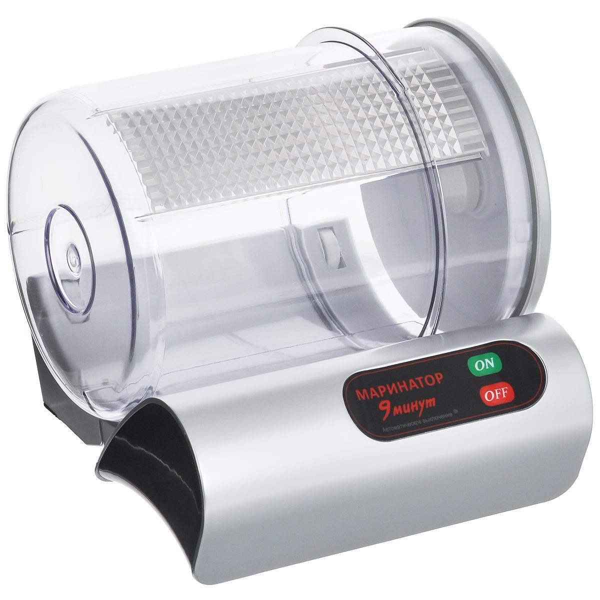 Маринатор Bradex 9 минутVS-506 ЭлектросушкаС помощью маринатора Bradex 9 минут вы действительно сможете удивить своих гостей кулинарными изысками, приготовленными всего за 9 минут. Диапазон применения этого устройства очень велик: им можно мариновать овощи с грядки, готовить мясо или рыбу, при этом процесс маринования сокращается в разы. Принцип работы маринатора Bradex 9 минут в том, что вакуум, конденсируемый в аппарате, воздействует на поры растительных и животных тканей, в результате чего происходит их расширение и значительно увеличивается всасываемость. Механическое перемешивание продуктов в процессе работы маринатора способствует не только глубокому всасыванию маринада, но и его равномерному распределению. Благодаря этому вы получаете качественный маринад, который, сохраняя свежесть и натуральный вкус продуктов, делает их более сочными и насыщенными. Также в маринаторе Bradex 9 минут можно не только быстро и качественно приготовить продукты, но также и хранить их. Благодаря вакууму продукты...